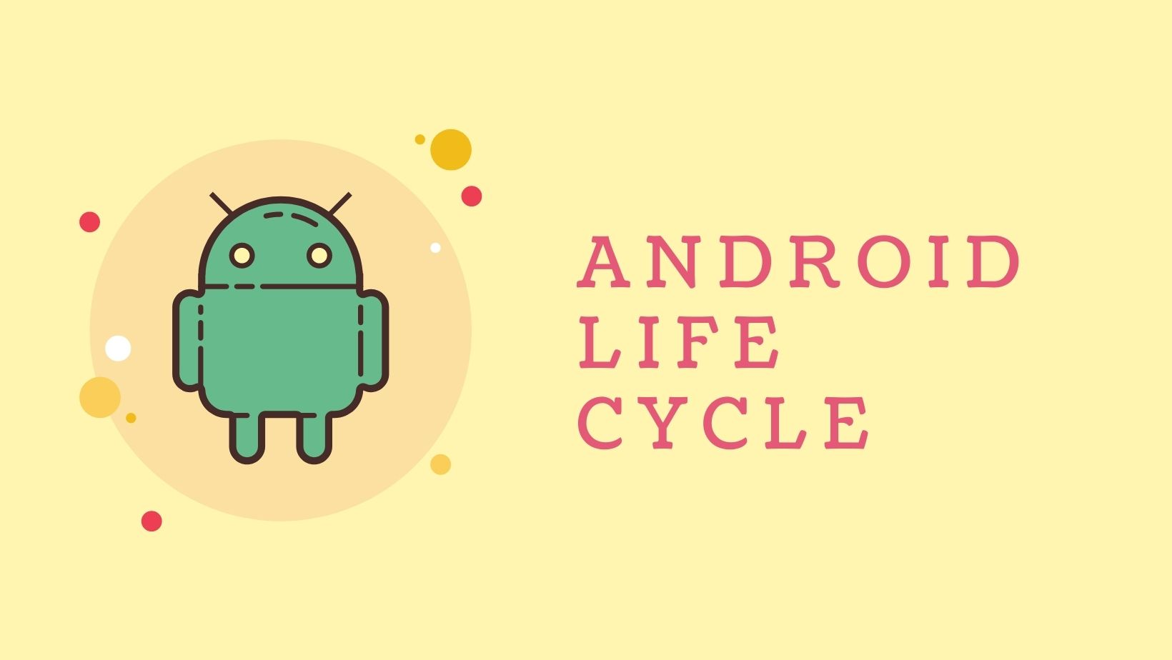 Life Cycle of Android Activity